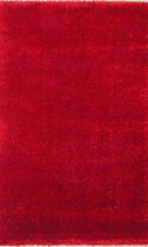 שטיח שאגי אדום PUFFY