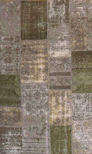 שטיח VIBE טלאים ירוק