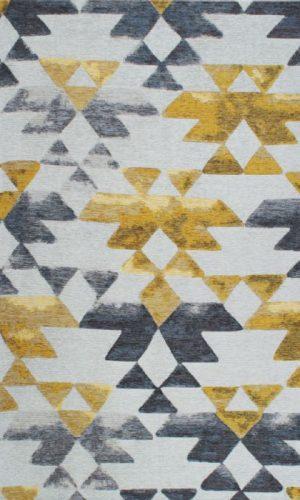 שטיח SMART אצטקי YELLOW