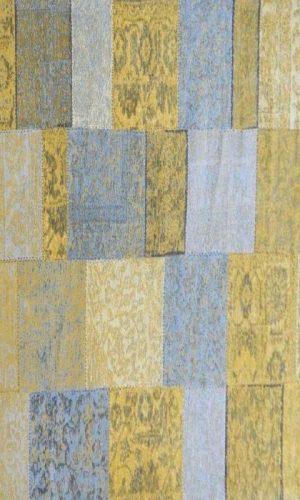 שטיח הינדי פאצ' צהוב