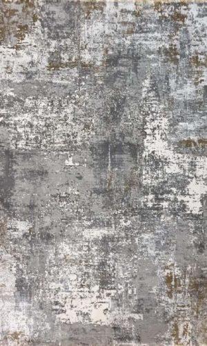 שטיח אבטרקט גולד אפור AR