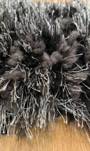 שטיח פינגרס BLACK GREY