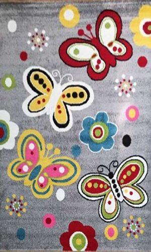 שטיח פרפרים לחדר ילדים